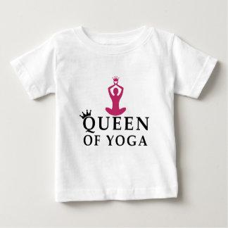Camiseta De Bebé reina de la corona de la yoga