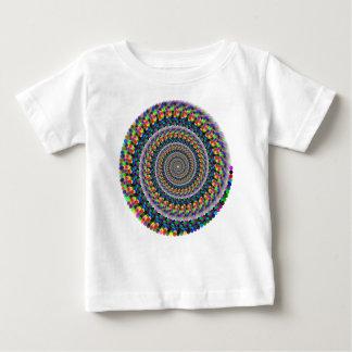 Camiseta De Bebé Remolino del arco iris
