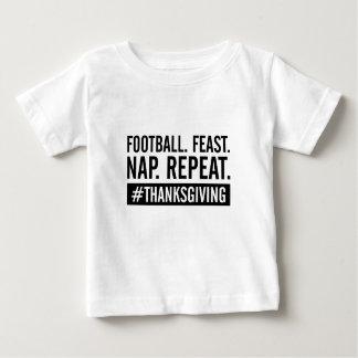 Camiseta De Bebé Repetición de la acción de gracias