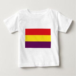 Camiseta De Bebé República de la bandera de España - Bandera