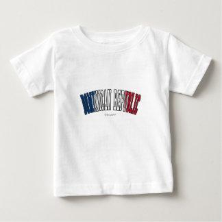 Camiseta De Bebé República Dominicana en colores de la bandera