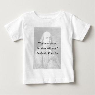 Camiseta De Bebé Retraso - Benjamin Franklin