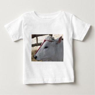 Camiseta De Bebé Retrato del Chianina, raza italiana del ganado