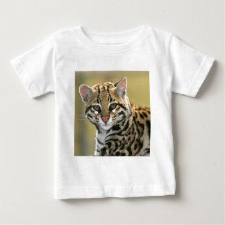 Camiseta De Bebé Retrato del Ocelot