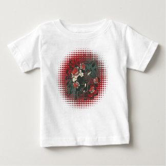 Camiseta De Bebé Retrato ornamental 2 del tigre