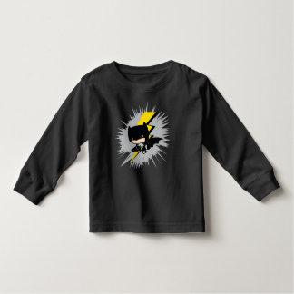Camiseta De Bebé Retroceso del relámpago de Chibi Batman