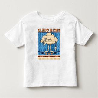 Camiseta De Bebé Retrocesos del individuo de la nube de los duendes