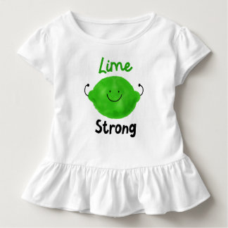Camiseta De Bebé Retruécano positivo de la cal - cal fuerte