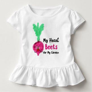 Camiseta De Bebé Retruécano positivo de la remolacha - mis