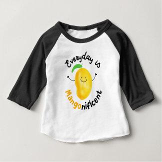 Camiseta De Bebé Retruécano positivo del mango - diario es
