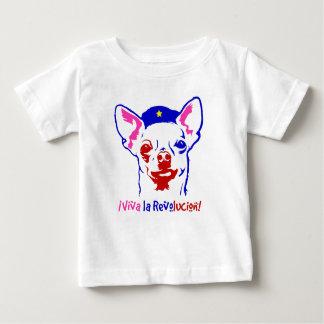Camiseta De Bebé Revolución de la chihuahua