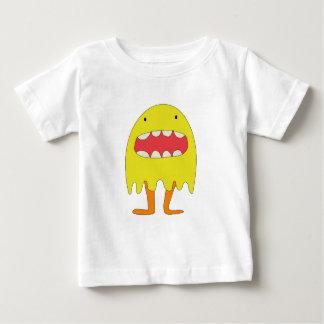 Camiseta De Bebé Ríe de Amarillo del monstruo del EL =)