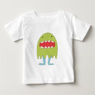 Camiseta De Bebé Ríe del verde del monstruo del EL =)