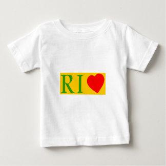 Camiseta De Bebé Rio de Janeiro amor