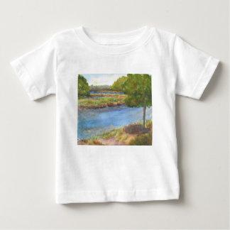 Camiseta De Bebé río del squamscott en newfields el 31 de julio de
