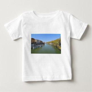Camiseta De Bebé Río Tíber en Roma, Italia