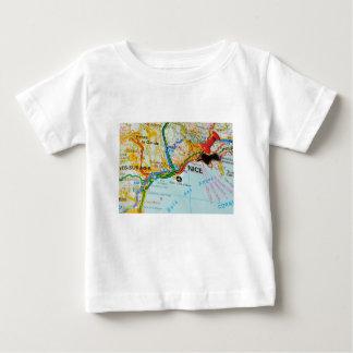 Camiseta De Bebé Riviera agradable, francesa, Francia