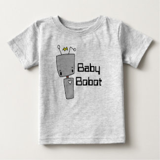 Camiseta De Bebé Robot