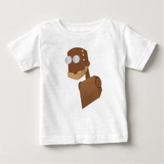 Camiseta De Bebé Robot madera