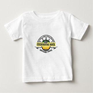 Camiseta De Bebé Roca del tribunal de Ot