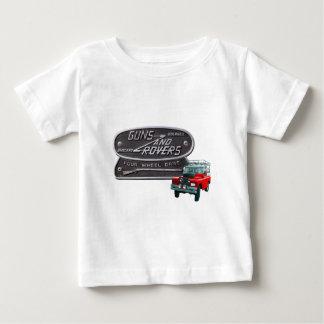 Camiseta De Bebé Rojo Rover de los armas y de los vagabundos