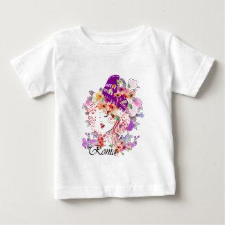 Camiseta De Bebé Roma en mujer
