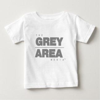 Camiseta De Bebé Ropa del área gris \ gris