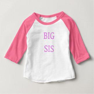 Camiseta De Bebé Rosa grande del SIS