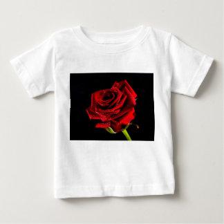 Camiseta De Bebé Rosa rojo hermoso