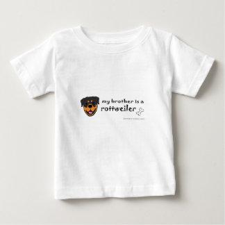 Camiseta De Bebé rottweiler
