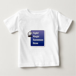 Camiseta De Bebé RPG Menu