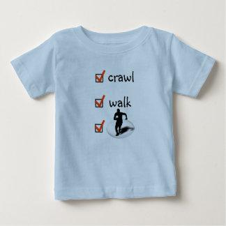 Camiseta De Bebé Rugbi del paseo del arrastre