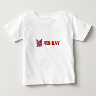 Camiseta De Bebé Sábado es Caturday