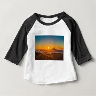 Camiseta De Bebé Salida del sol