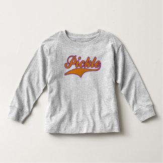 Camiseta De Bebé Salmuera (naranja/púrpura)
