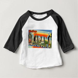 Camiseta De Bebé Saludos de Alabama