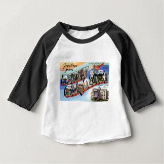 Camiseta De Bebé Saludos de Carolina del Norte