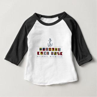Camiseta De Bebé Saludos de Detroit