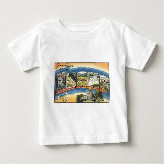 Camiseta De Bebé Saludos de Idaho