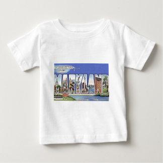 Camiseta De Bebé Saludos de Maryland