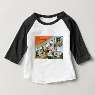 Camiseta De Bebé Saludos de Missouri