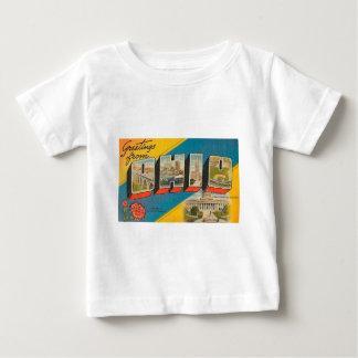 Camiseta De Bebé Saludos de Ohio