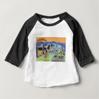 Camiseta De Bebé Saludos de Wyoming