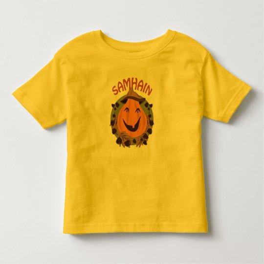 Camiseta De Bebé Samhain/Samaín happy pumpkin KidsTSHIRT