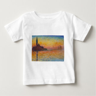 Camiseta De Bebé San Jorge Maggiore en la oscuridad - Claude Monet