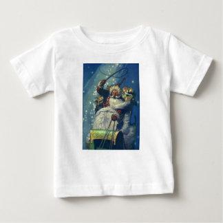 Camiseta De Bebé Santa está viniendo a la ciudad