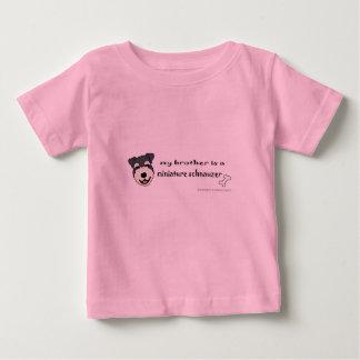 Camiseta De Bebé schnauzer miniatura