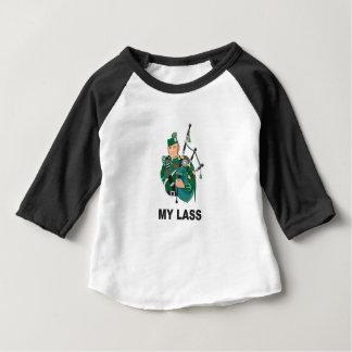 Camiseta De Bebé scott con la gaita