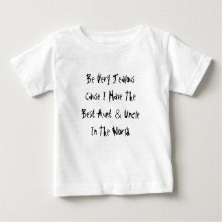 Camiseta De Bebé Sea causa muy celosa que tengo la mejores tía y