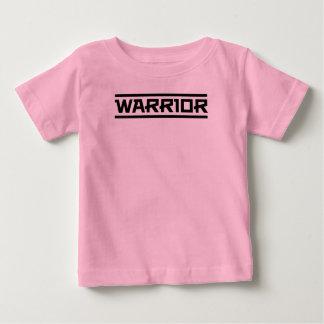 Camiseta De Bebé Sea un guerrero